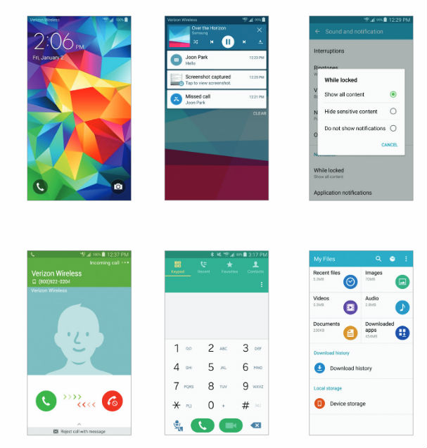 Android Lollipop OS update available for Verizon Samsung Galaxy S5