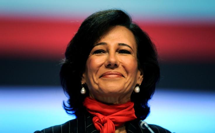 Banco Santander Boss Ana Botin.