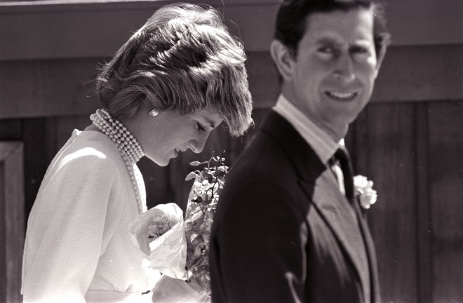 Lady Diana and the Prince of Wales Prince Charles