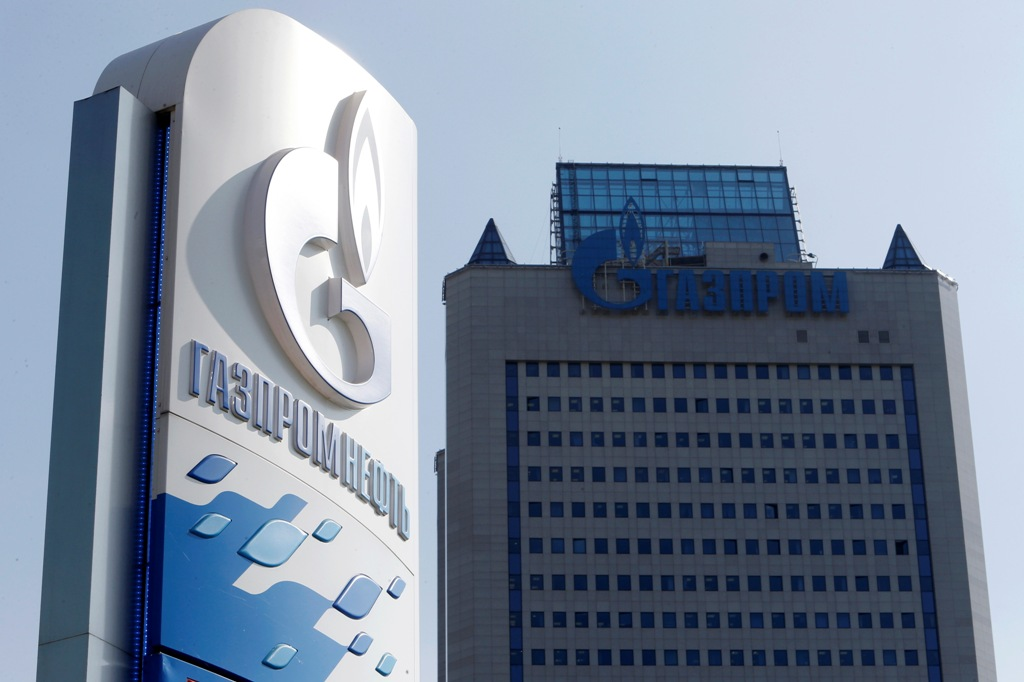 Russia's Gazprom replaces Exxon atop global ranking