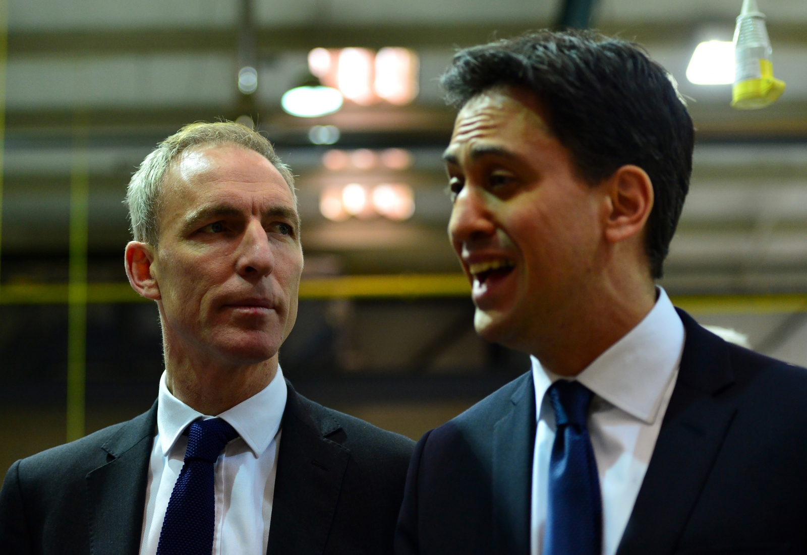 Jim Murphy and Ed Miliband