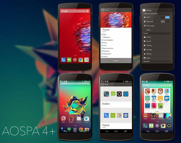 Android 5.0.2 Paranoid Android v5.0 Lollipop ROM arrives for Nexus 4, Nexus 5, Nexus 7, OnePlus One and more