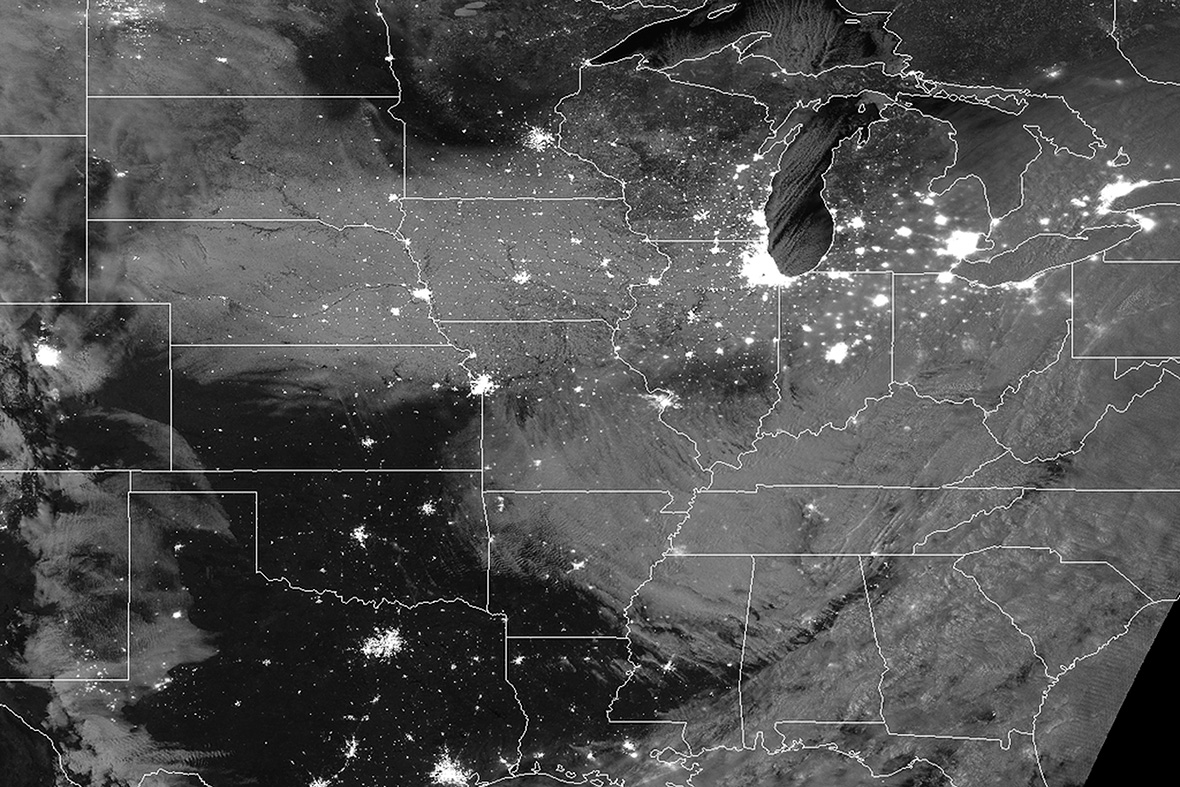 us snow satellite