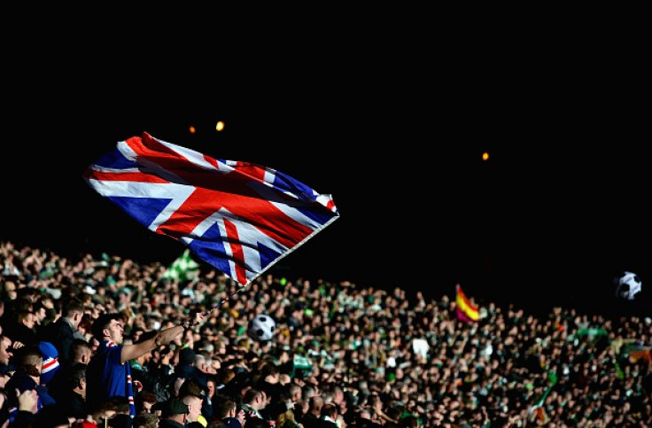Rangers fans at Hampden Park