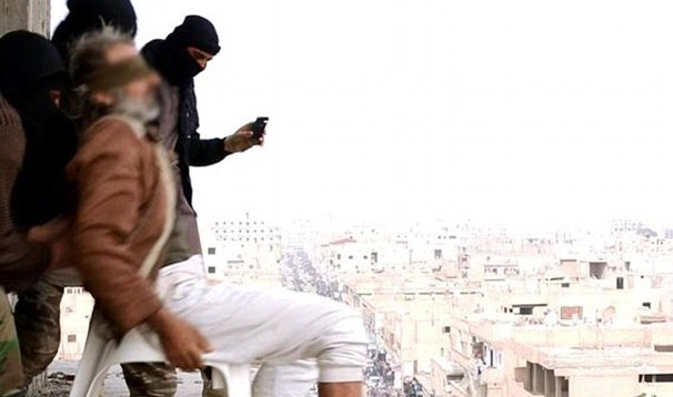 Isis executioners gay man Syria