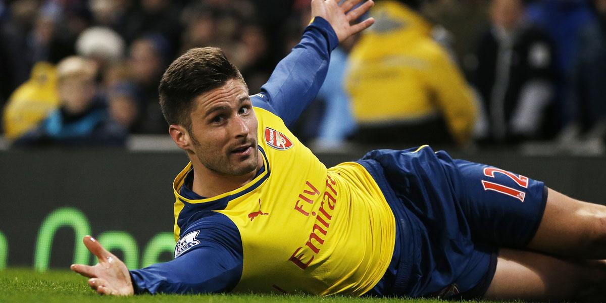 Arsenal Giroud Man City