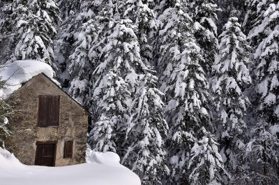 neige pyrenees