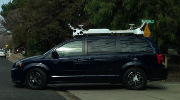 Apple driverless car