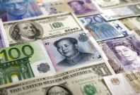 Major currencies and dollar
