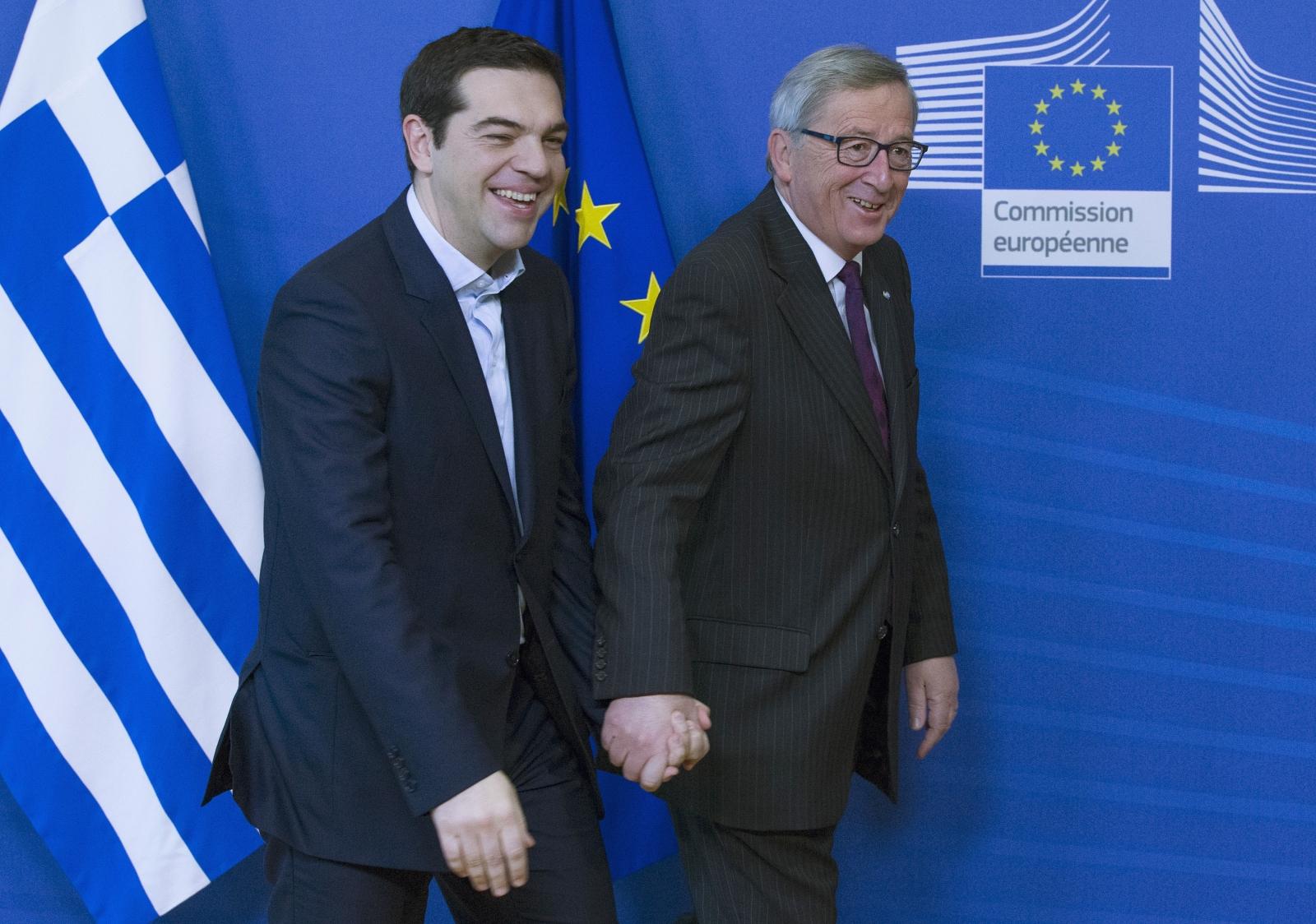 Alexis Tsipras Jean Claude Juncker
