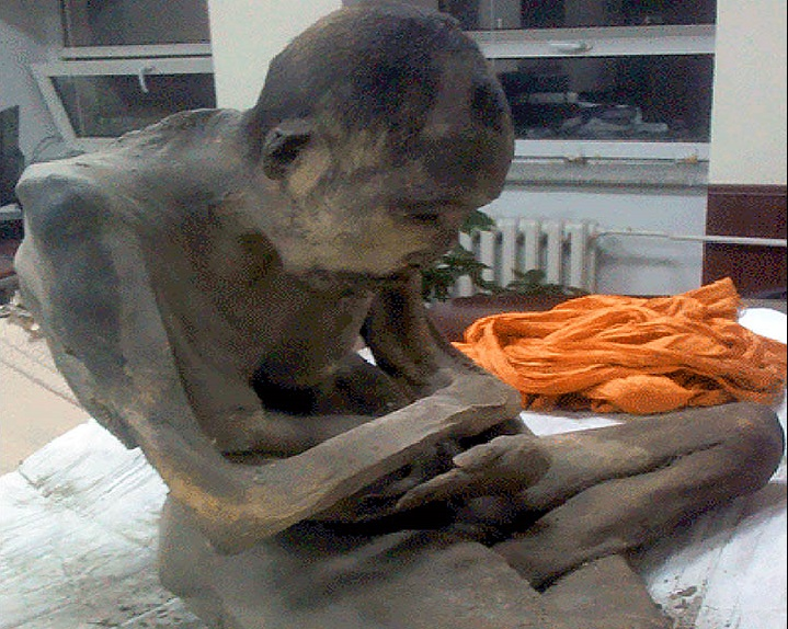 Mummified Buddhist monk found in Mongolia is 'still alive,' claims professor