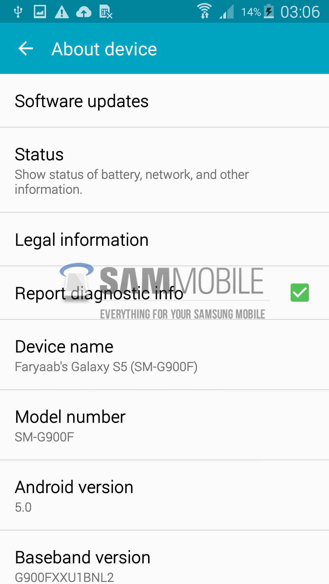 Update Galaxy S5 Exynos (SM-G900H) with Android 5.0 Lollipop G900HXXU1BOA7 official firmware