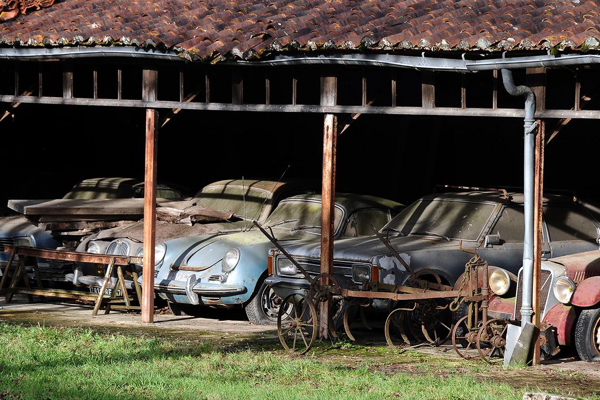 Retromobile Artcurial auction Roger Baillon classic cars