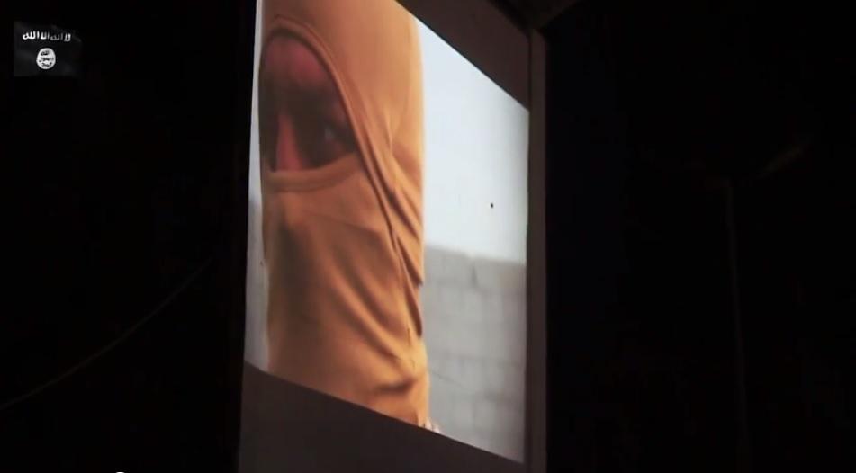 Jordanian pilot public screening