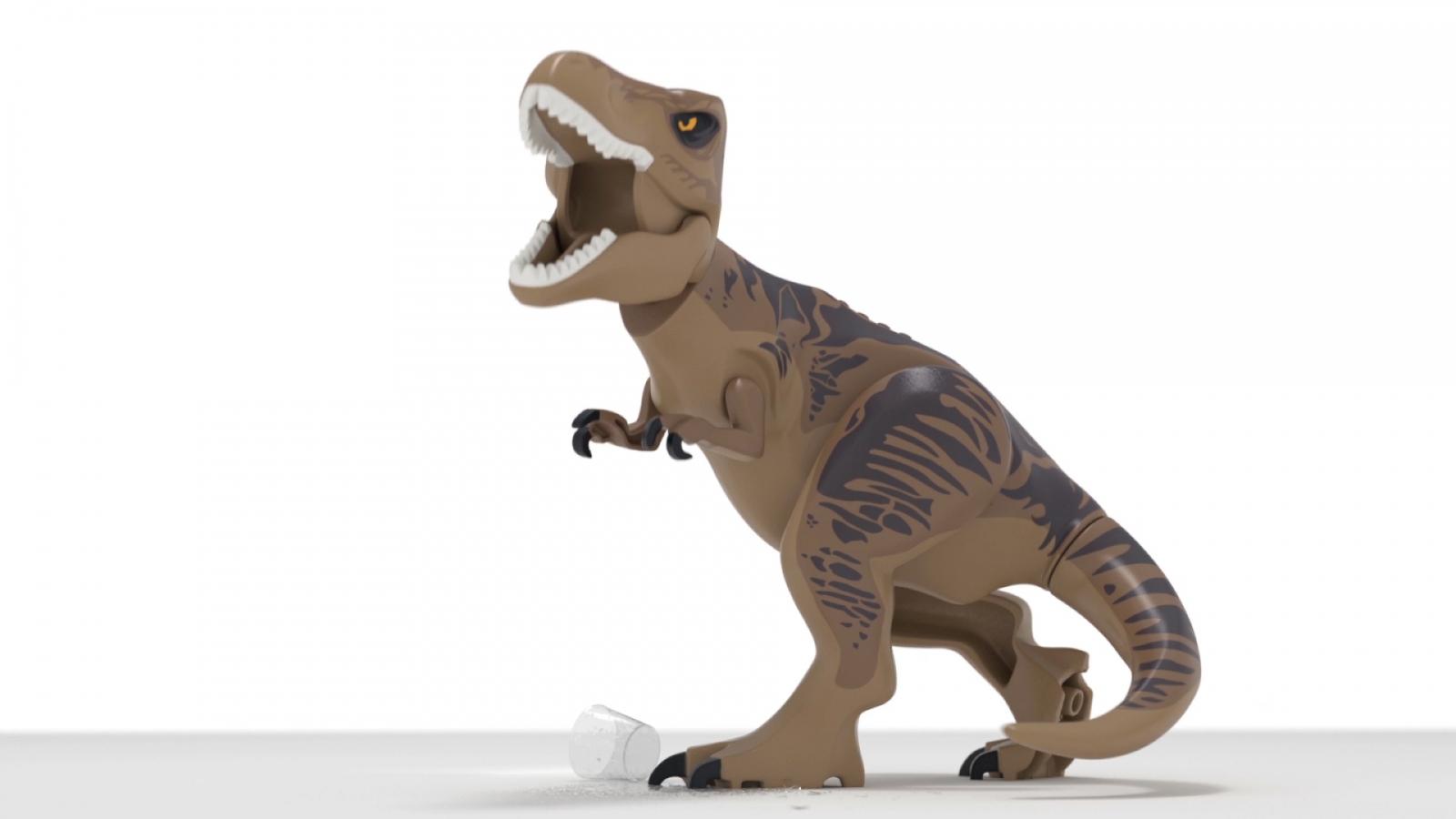 First Lego Jurassic World teaser trailer promises four films-worth of adventure