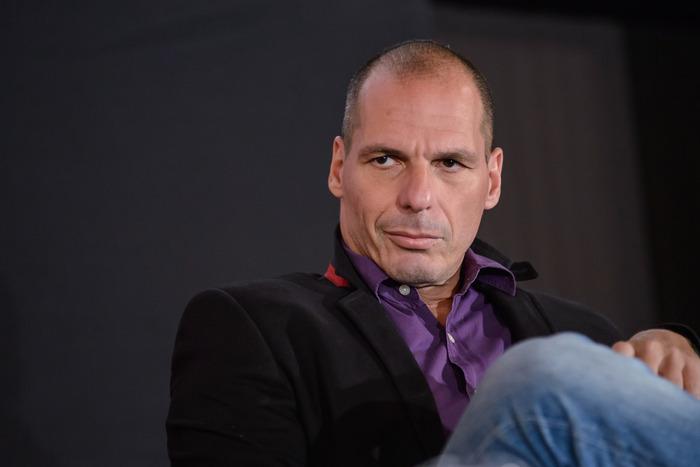 Greece's finance chief Yanis Varoufakis