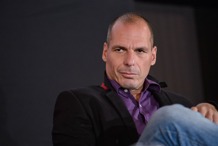 Greece's finance chief Yanis Varoufakis