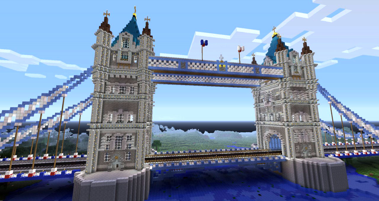 Minecraft London Bridge