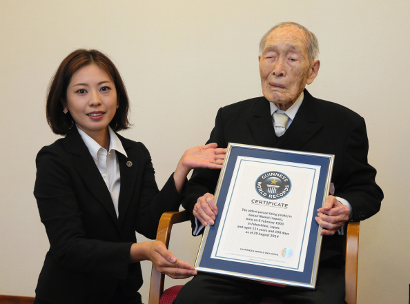 Sakari Momoi world oldest person