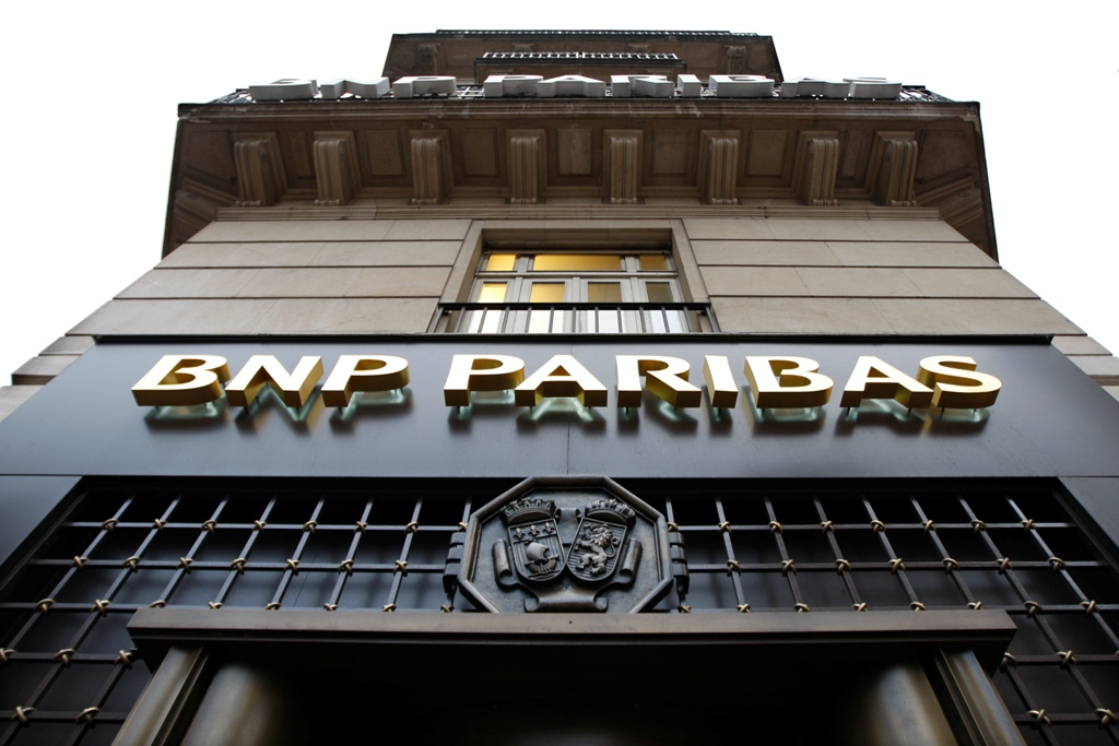 BNP Paribas's stock tanks on dismal earnings outlook and 2014 profit
