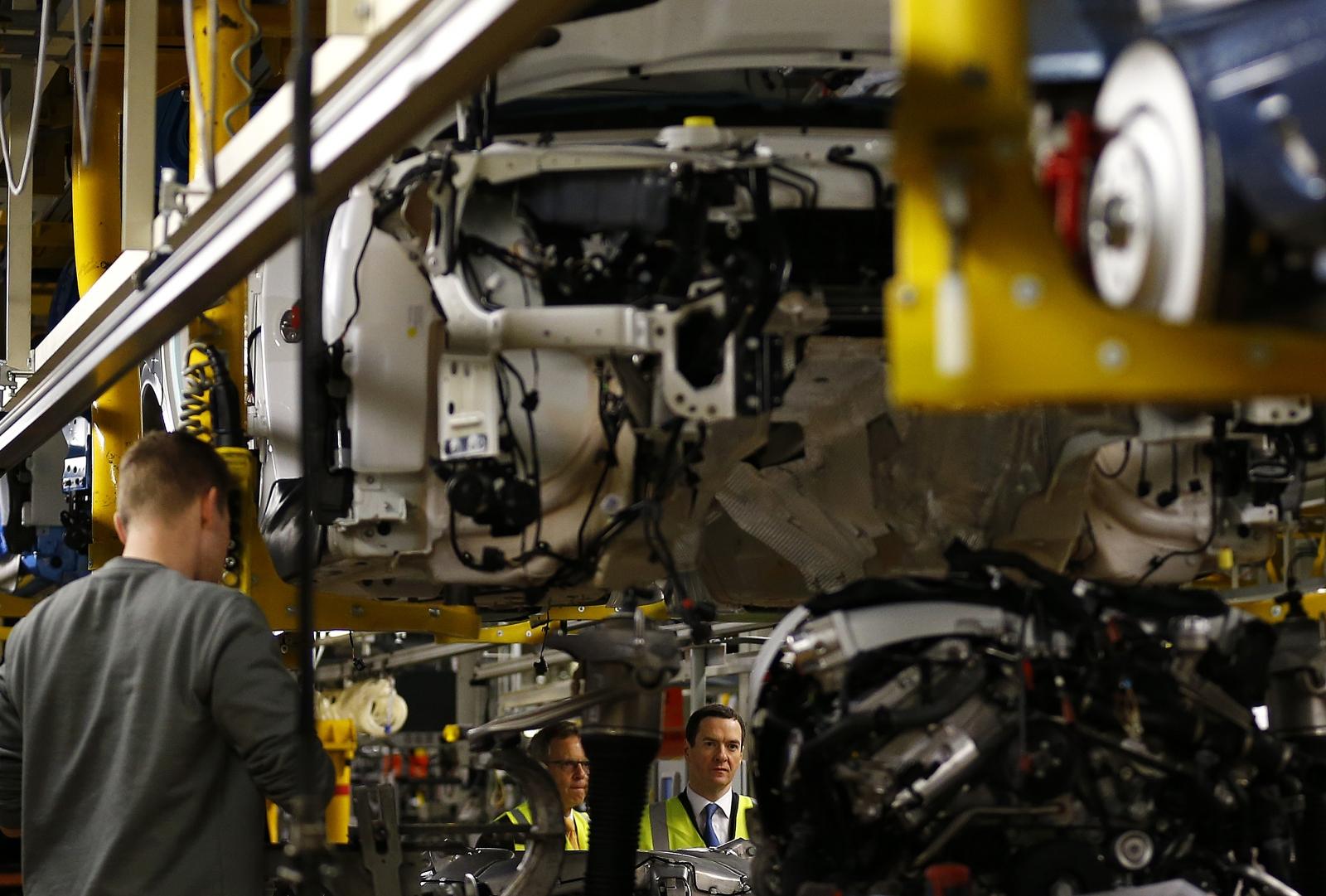 UK car production plant