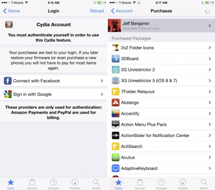 New Cydia visual update brings modernised home page with flatter icons and appealing design
