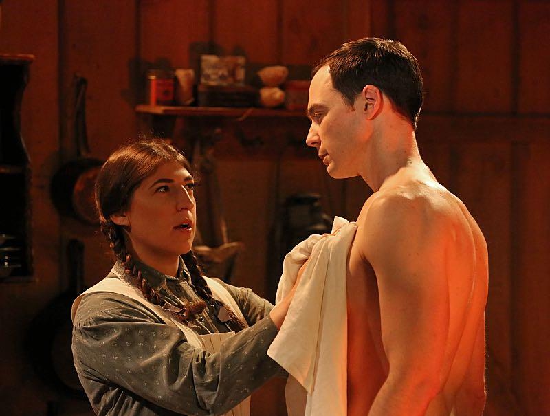 The big bang theory season 8 Sheldon and Amy