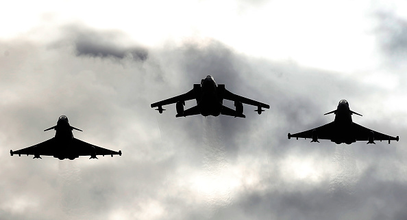 Two Typhoons and a Tornado jet,