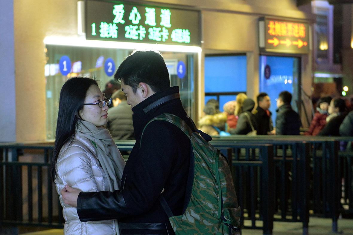 China new year travel
