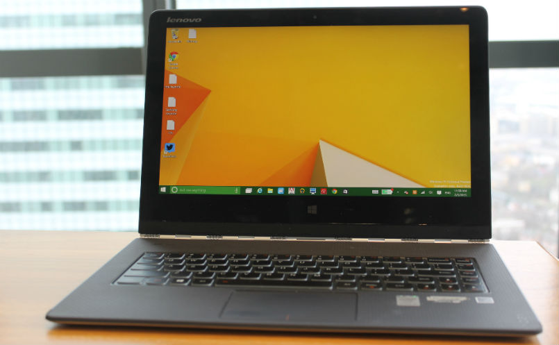 Lenovo Yoga 3 Pro Review Screen