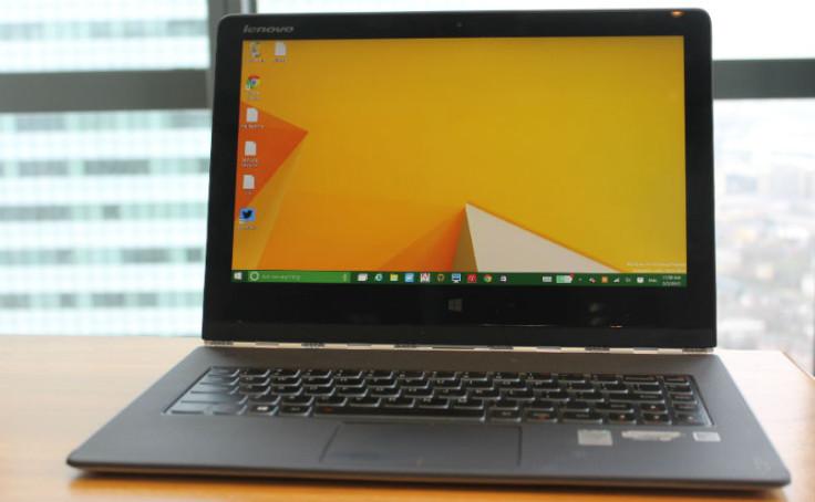 Lenovo Yoga 3 Pro Review Screen