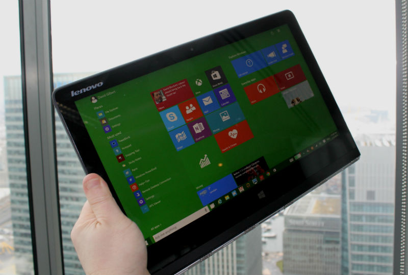 Lenovo Yoga 3 Review Tablet