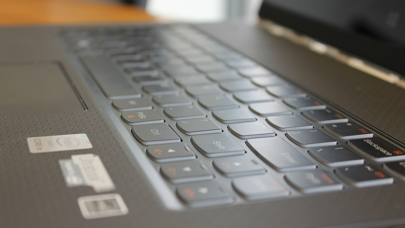 Lenovo Yoga 3 Pro Review keyboard