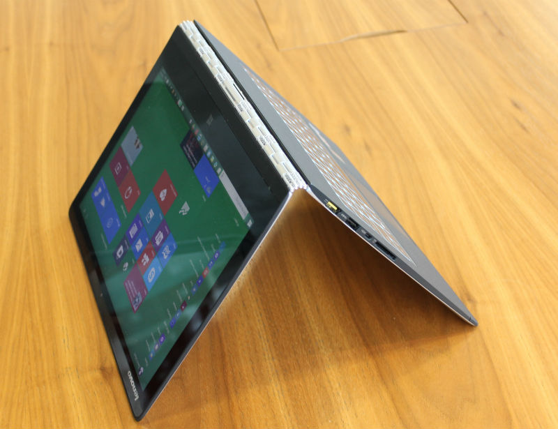 Lenovo Yoga 3 Pro Review Reading mode