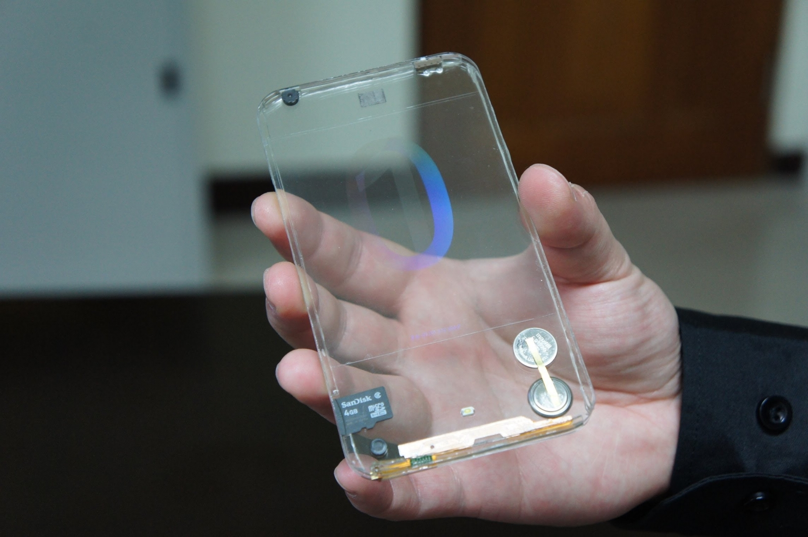 graphene quantum dot smartphone future transparent