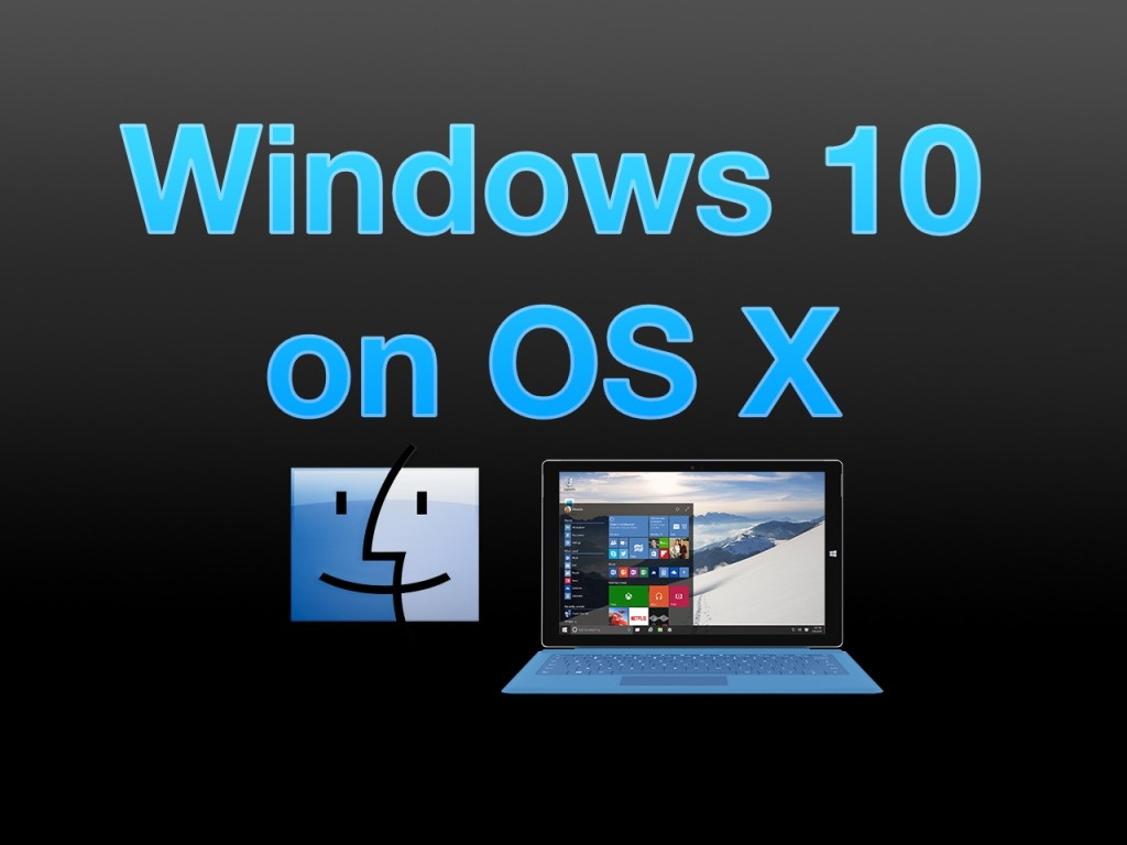 how to install windows 10 preview on mac