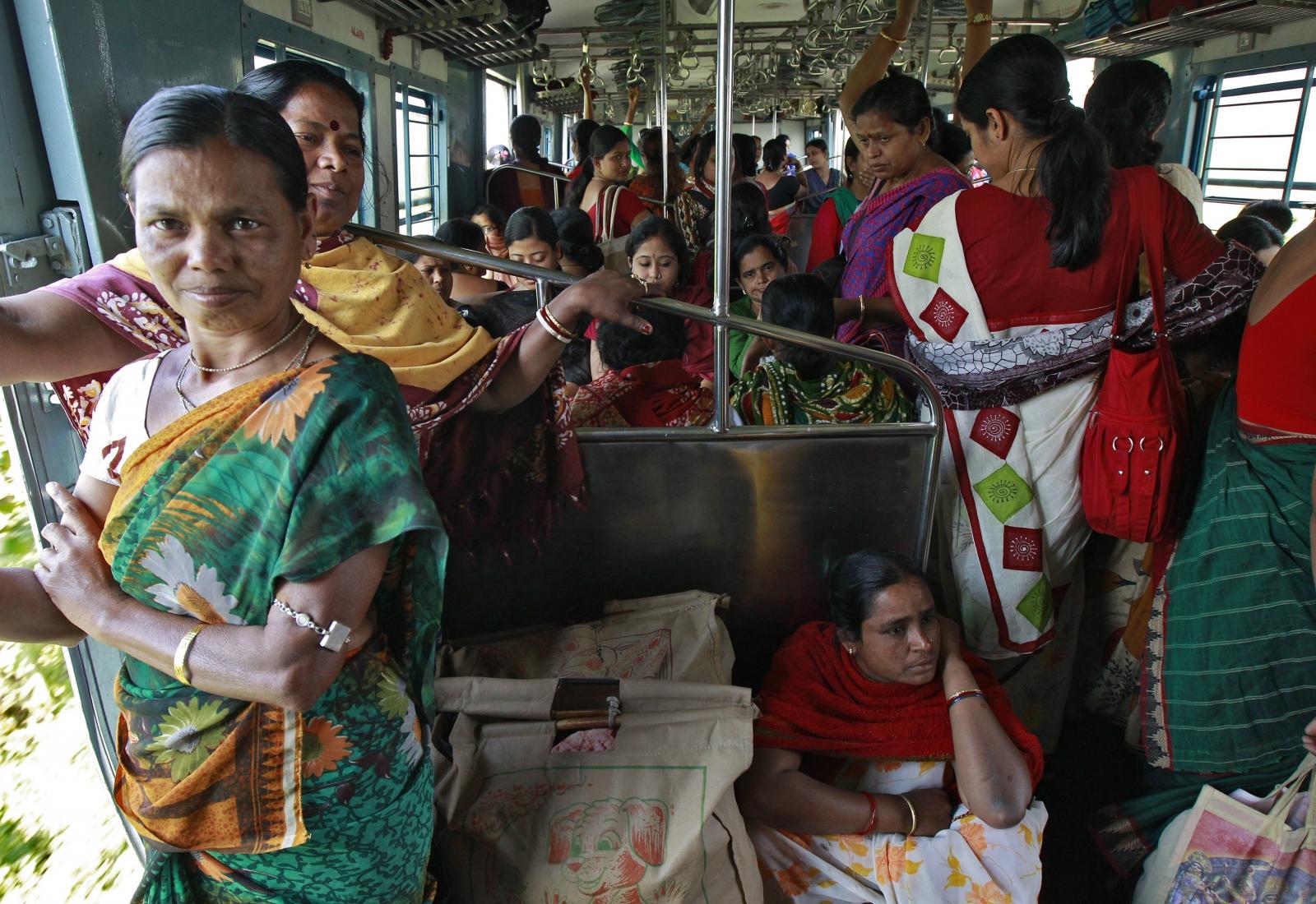 Women Groping Men On Bus