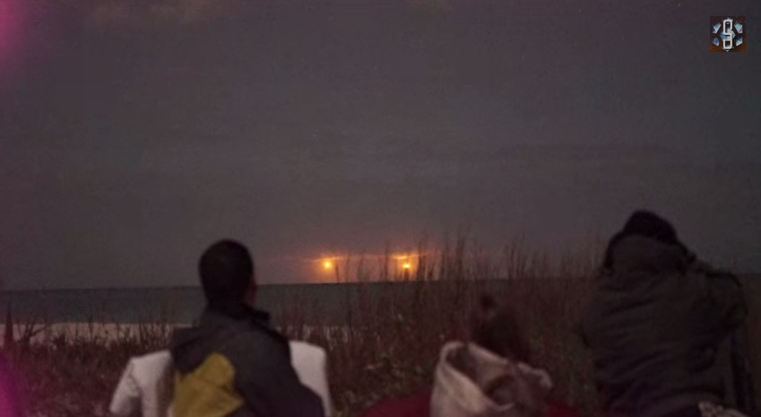 UFO sighting alert: Twin sunrise like bright objects hovering over Florida beach sparks rumours