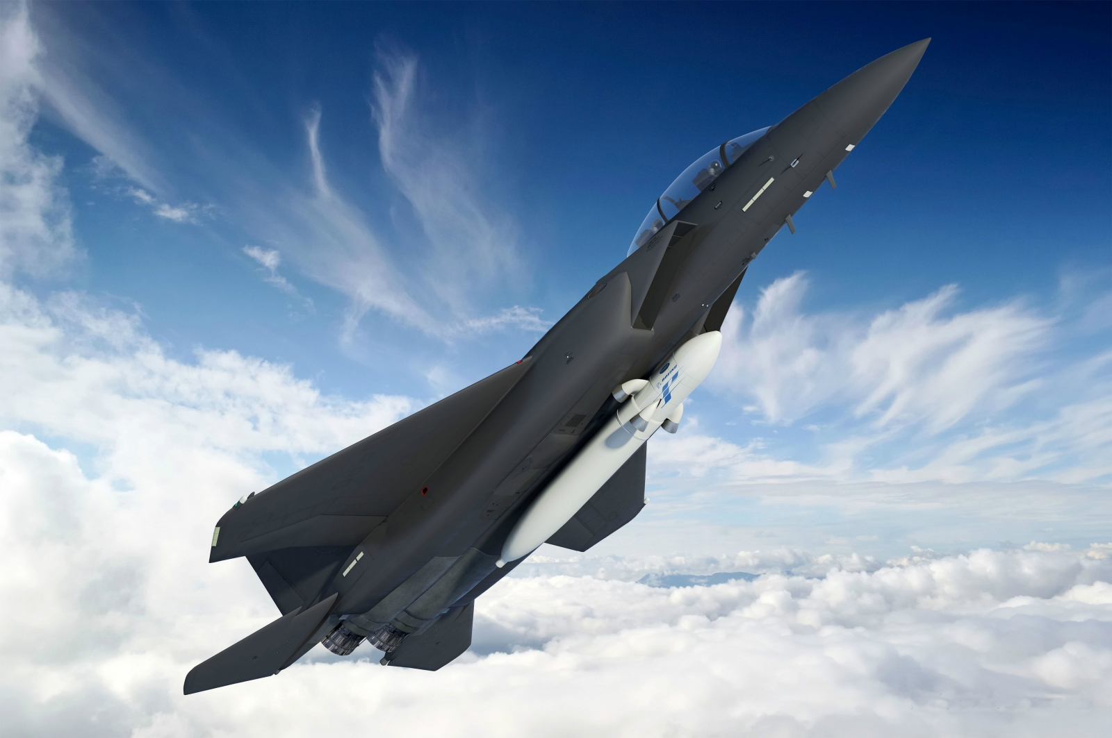 DARPA satellite fighter jet