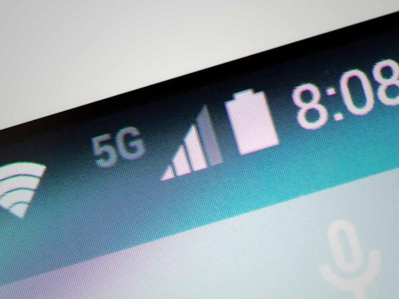 5G wireless internet network