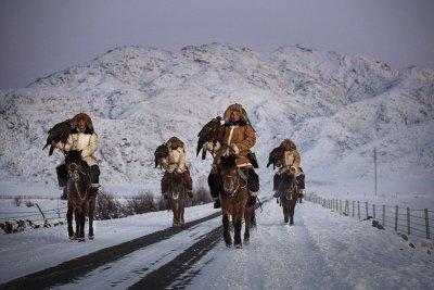 Kazakh eagle hunters China