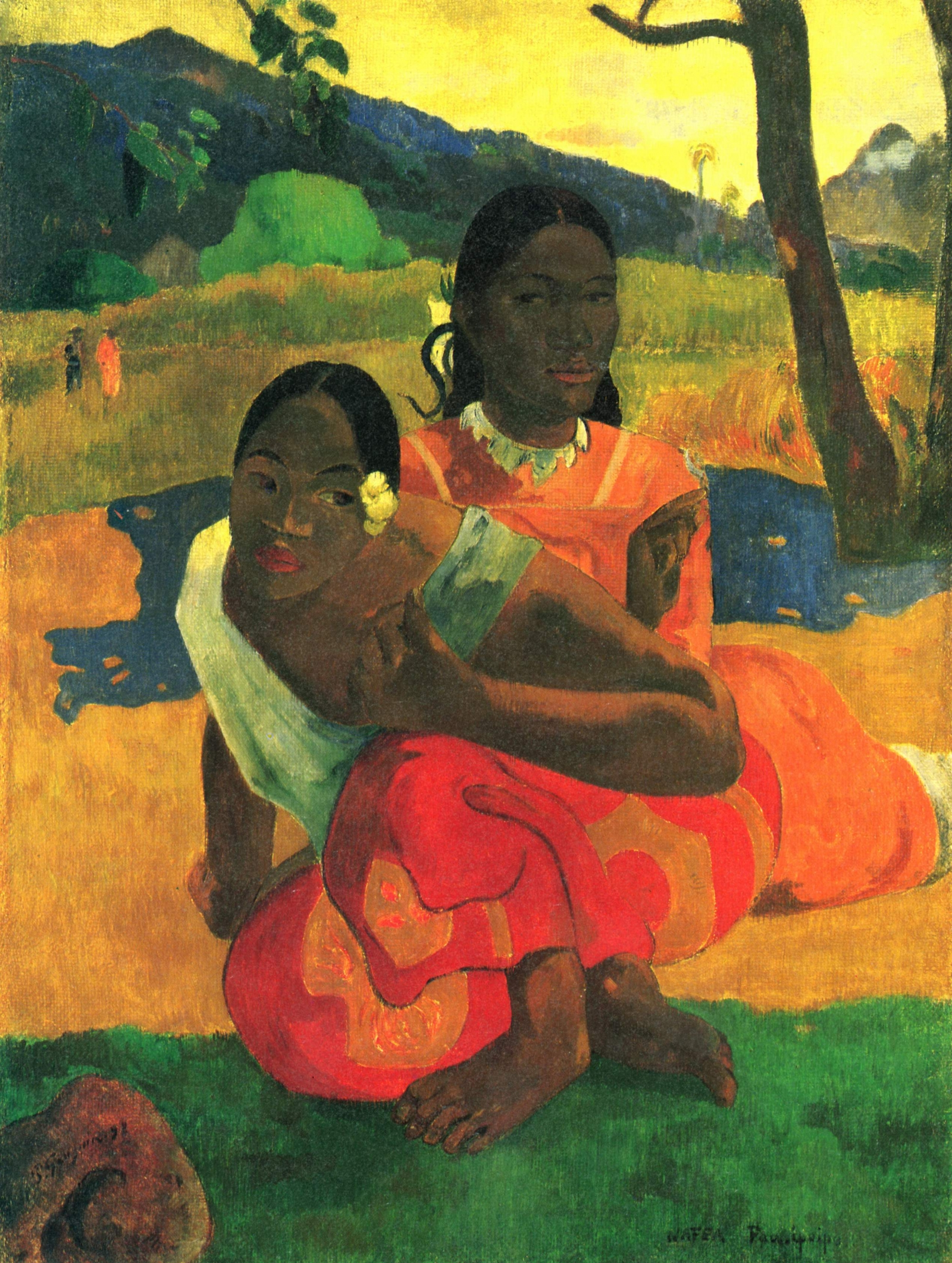 The oil painting Nafea Faa Ipoipo, or When Will You Marry? by Gauguin has sold for a record $300m