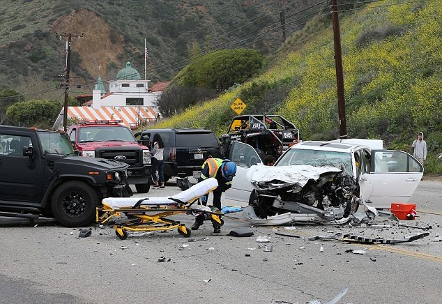 Bruce Jenner car crash