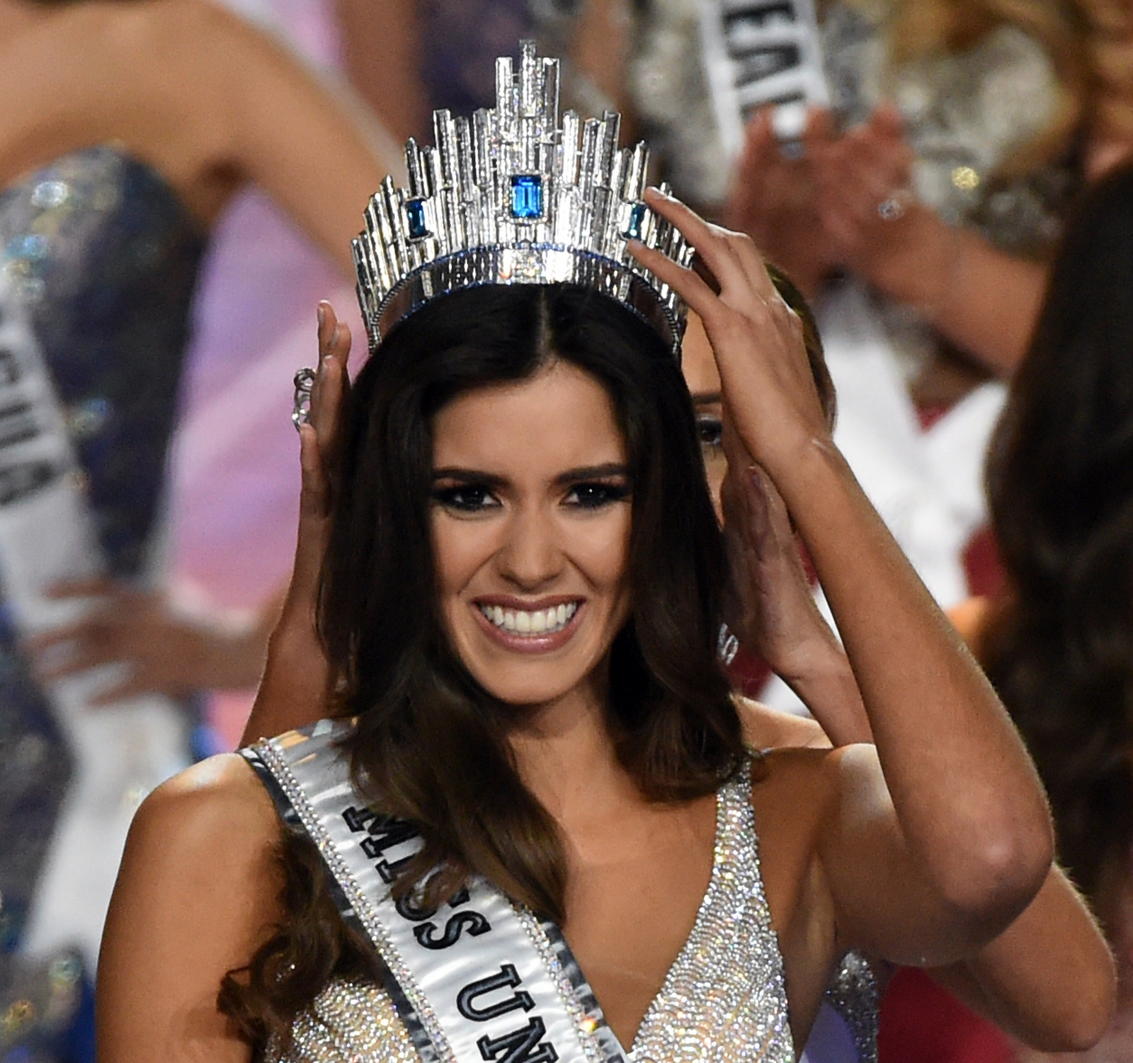 Miss Universe Paulina Vega. The FARC rebe group has taken her up on her expressed desire to help bring about peace in her country. (Getty)