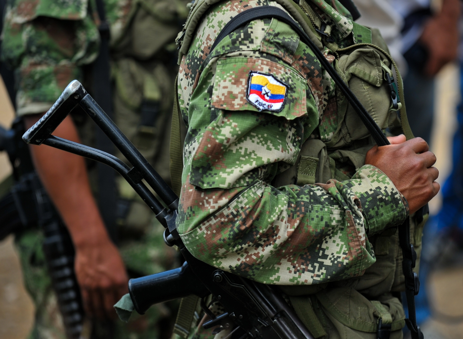 Member of the FARC rebel group. (Getty)