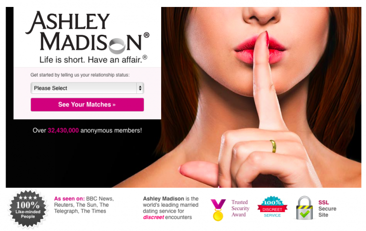Ashley Madison hacked customer data leaked