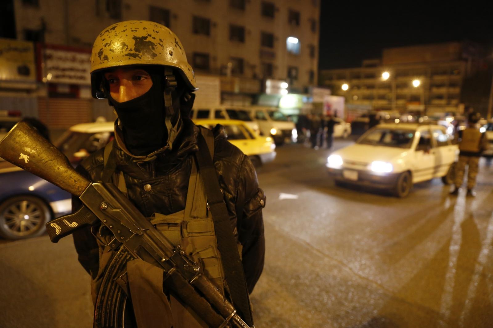Baghdad soldier
