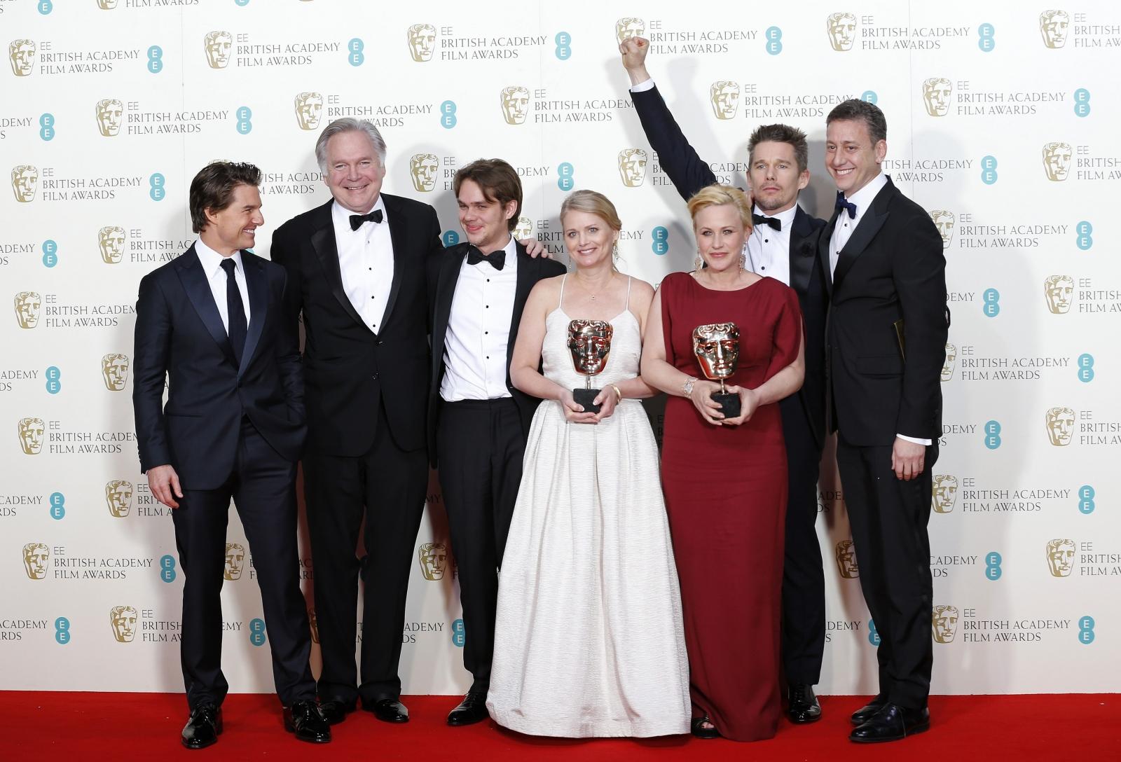 'Boyhood' scoops best film and director prizes at BAFTAs