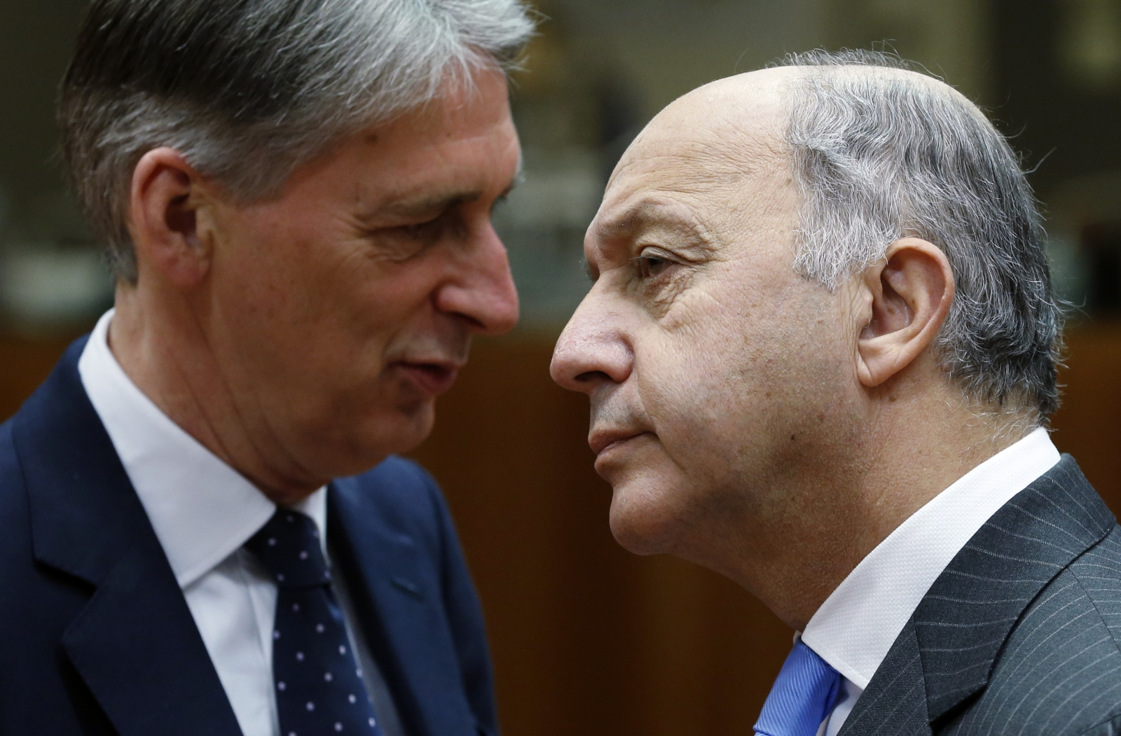 Philip Hammond Laurent Fabius