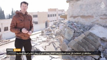 British hostage John Cantlie Isis video